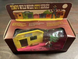 Timpo Wild West Series Boxed - U.S. Marshals Office -1970's