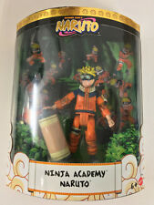 SDCC Shonen Jump's Naruto NINJA ACADEMY NARUTO Exclusive Mattel New Sealed