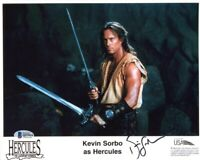 KEVIN SORBO SIGNED AUTOGRAPHED 8x10 PHOTO HERCULES BECKETT BAS