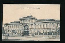 FRENCH INDOCHINA SAIGON POST OFFICE PPC c1920