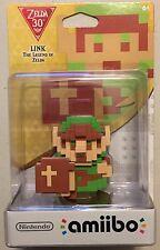 The Legend of Zelda 30th Anniversary Classic 8 bit Link amiibo Sealed NIB BOTW