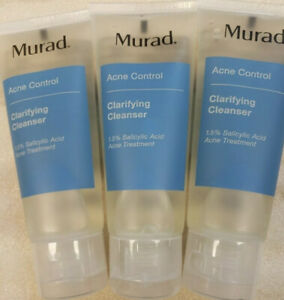 3X Murad Acne Control Clarifying Cleanser 1.5% Salicylic Acid 1.5oz Travel Ipsy
