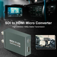 2-way Micro SDI to HDMI Converter Adapter Mini 3G HD SD-SDI Video Converter DG