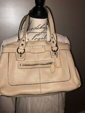 Coach Penelope tote  pebble Leather  - Tan  VGC