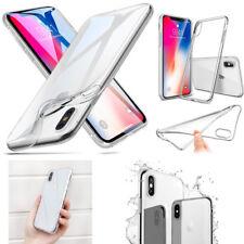 NEW -Ultra Thin Slim TPU Gel Soft Skin Case Cover Back Phone For Apple iPhone X