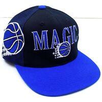 Orlando Magic Snapback Hat Cap Sports Specialties Black Dome Vintage 90s