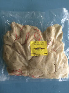 Naturdarm  25 Stück Schweinekrausen abgebunden in 5 Größen