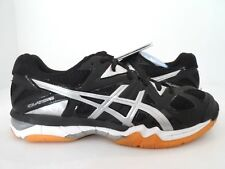 ASICS Men's Gel-Tactic Volleyball Shoe, Black/Onyx/Silver, 6 M US