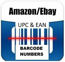 50 UPC EAN Bar Code for Amazon India,Ebay,Flipkart, Amazon USA