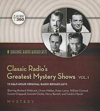 NEW Classic Radio's Greatest Mystery Shows, Volume 1 (Classic Radio Collection)