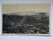 CASTROVILLARI vallata Canal Greco Cosenza vecchia cartolina
