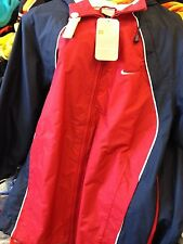 NIKE RAIN JACKET IN SMALL OR MEDIU MENS 34/36 38/40 inch AT £15 IN  RED LINED