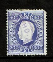 Portugal SC# 50a, Used, perf 12.5, Hinge Rems, some minor embossing tears S5577