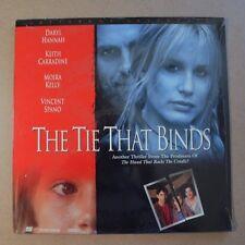 The TIE THAT BINDS (1995) Daryl Hannah  Keith Carradine  LASERDISC   NEW