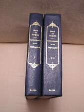 CONCORDANCE TO THE SEPTUAGINT Greek Versions Old Testament, Apocryphal Books