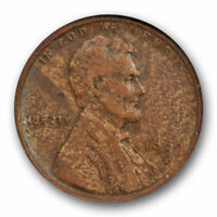 1909 S VDB 1C Lincoln Wheat Cent ANACS VF 30 Very Fine to Extra Fine Key Date