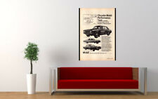 """1968 CHRYSLER MOBIL VALIANT HILLMAN AD PRINT WALL POSTER PICTURE 33.1""""x23.4"""""""
