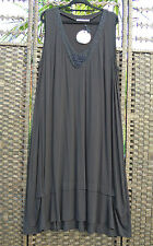 TS 14+ EPLISSE Black Moonlight Slip Dress 18 BNWT $119.95