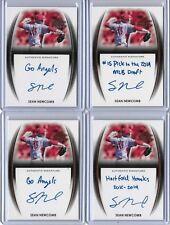 2014 Leaf Trinity Draft Sean Newcomb Silver Inscription Auto 7/25 RC Braves