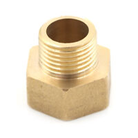 "Metal Brass Metric BSP G 3/4"" Female to NPT 1/2"" Male Pipe Fitting Adapter H&P"