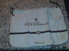 100% Authentic Gucci Dust Bag 100% Cotton Drawstring- 9 X 12 Guc!