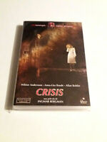 "DVD ""CRISIS"" COMO NUEVO INGMAR BERGMAN WIKTOR ANDERSSON ANNA-LISA BAUDE ALLAN"