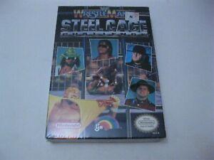 WWF Wrestle Mania Steel Cage Challenge new factory sealed NES Nintendo 1992