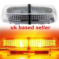 240 LED Amber Warning Strobe Light Recovery 12V Flashing Magnetic Beacon Light