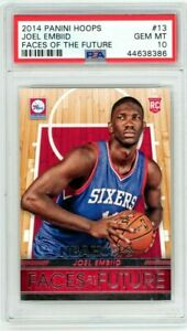 Joel Embiid 2014 Hoops Faces of the Future PSA 10