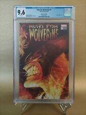 Hunt for Wolverine #1 1:500 Kubert remastered wraparound cover CGC 9.6 2018