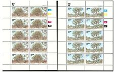 VENDA 1983 INDIGENOUS TREES 2ND SET OF 4 IN SHEETS OF 10 MINT NEVER HINGED MNH