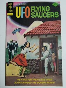 UFO Flying Saucers (1968) #6 - Very Good