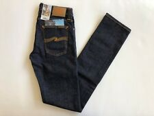 NEW Nudie Jeans Tube Kelly Organic Twill Rinsed 28W 34L Made in Italy