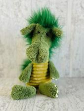 "JELLYCAT 12"" Plush DUDLEY DRAGON Medium Green Stuffed Animal Toy"