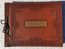 VINTAGE 1940'S PHOTO ALBUM + 110 VINTAGE PHOTOS DATED 1940'S THRU 1950'S