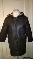 Childrens BURBERRY Cuir Duffle-coat Age 8/9 ans