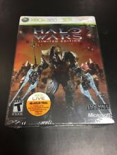 NEW Halo Wars game -- Limited Edition (Microsoft Xbox 360, 2009)
