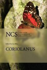Coriolanus (the New Cambridge Shakespeare): By William Shakespeare