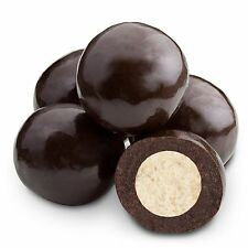 DARK CHOCOLATE MALT BALLS, 1LB