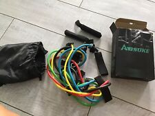 Absoke Resistance Bands, Exercise Bands Set 11 Pack Home Outdoor Workout Bands-S