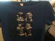 LA Dodgers ~ Gonzalez-Kershaw-Kendrick-Puig-Greinke-Crawford ~ Printed Tee-Shirt