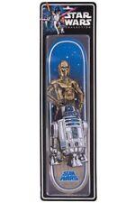 Santa Cruz Star Wars Droids C3PO R2D2 Collectible Skateboard Deck Limited Ed.