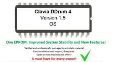 Clavia ddrum 4 - Version 1.5 Firmware Update OS Upgrade Eprom - New Features!