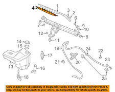 BMW OEM 00-06 X5 Wiper Arm-Front Blade 61610032743