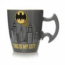 OFFICIAL BATMAN GOTHAM CITY SKYLINE 3D HANDLE COFFEE MUG TEA CUP NEW IN GIFT BOX
