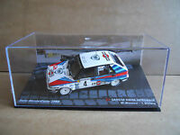 Rally Model Car IXO 1:43 LANCIA DELTA HF INTEGRALE Martini 1989 M. Biasion [MZ15
