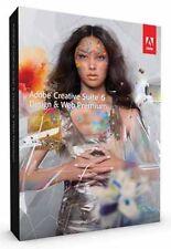 Adobe  Creative Suite 6: Design & Web Premium - Windows (Retail) (1 User)