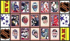 1998 Panini NHL Hockey Stickers Complete Set of 228 Sergei Samsonov Sturm Rookie