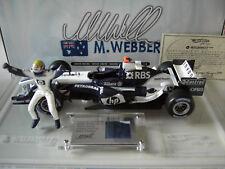 F1 WILLIAMS 2005 WEBBER coffret 1/18 HOT WHEELS G9751 voiture formule 1 miniatur