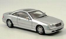 Spark Mercedes CL 500 Silver Euro Dealer 1:43 Rare Jem